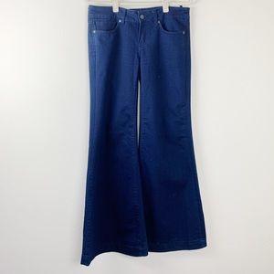 Buffalo David Bitton Wide Leg Flared Jeans Size 30